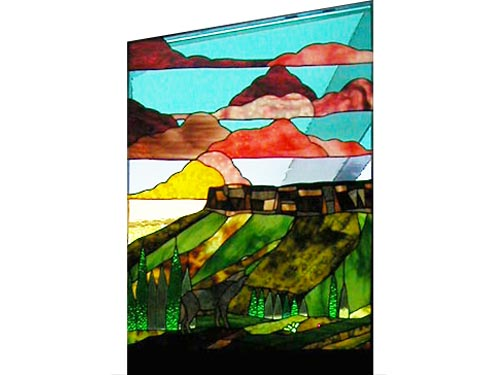 YBG Ranch window, top left panel